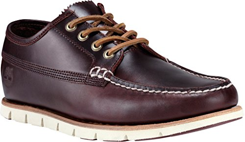 Timberland Uomo Lacci in pelle C5740A Greleyaprch Brown Redwood