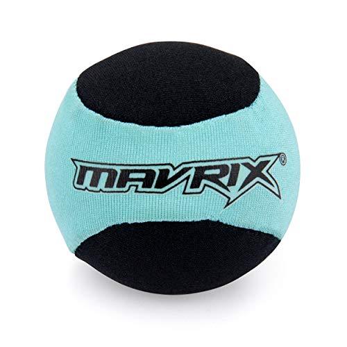 Mavrix Unisex-Jugend Bouncing Water Skim Ball Beach & Pool Spielzeug, Schwarz/Blau, Einheitsgröße -