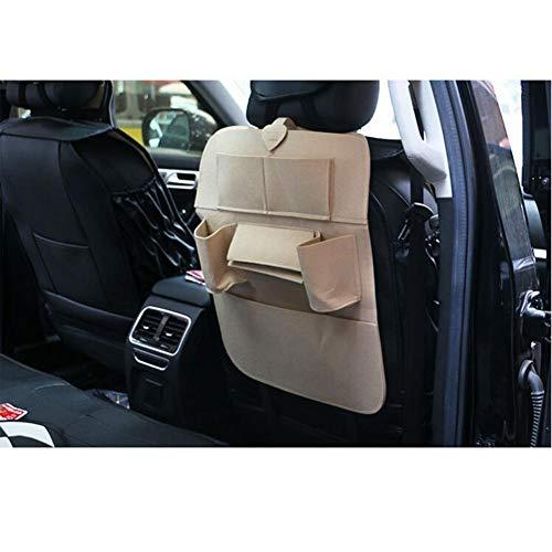 Front-flasche Wasser-tasche (HUVE Riesige Auto Rückenlehne Aufbewahrungsbox - Autositz Aufbewahrungsbox Hängen Tasche Multifunktionale Auto Aufbewahrungsbox Für Wasser/Buch/Flasche, Fahrzeuge Reisezubehör)