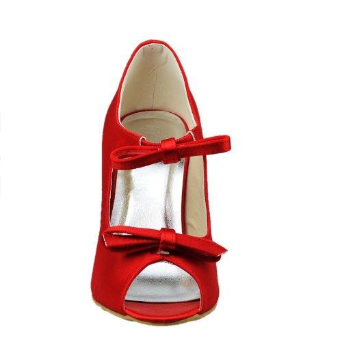 Rosso Cinturino Donna Minitoo Caviglia Caviglia Cinturino Minitoo Rosso Minitoo Donna BzSwqF0