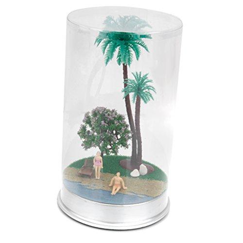 Paysage d'été Plage Mer Modèle Miniature pour Décoration Collection