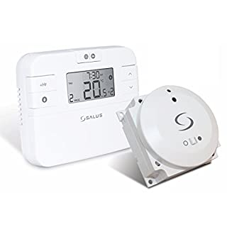 Salus Wireless Thermostat, White, RT510BC