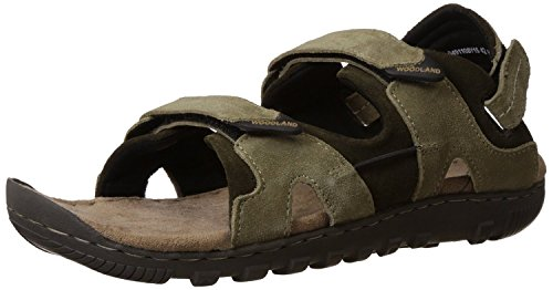 Woodland Men's Gd0491108W13 Khaki Casual Sandals Size : (6 Uk) Or (40 Euro )  available at amazon for Rs.1836