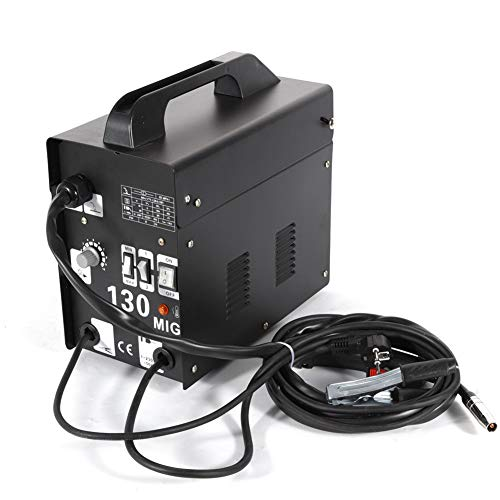 Yiyiby MIG saldatrice MIG130 elettrodi saldatrice saldatrice professionale 120 A 220 V/230 V filo di riempimento saldatore inverter saldatore a gas saldatore