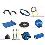 Plates Seti İp şınav barı topu çemberi ip fitnes matı Denge tahtası egzersiz çekme halatı yoga silin