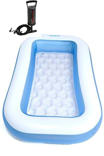 Anokhichaabi Combo-Intex Original 6 Ft Inlatable Bath Tub With Intex Pump