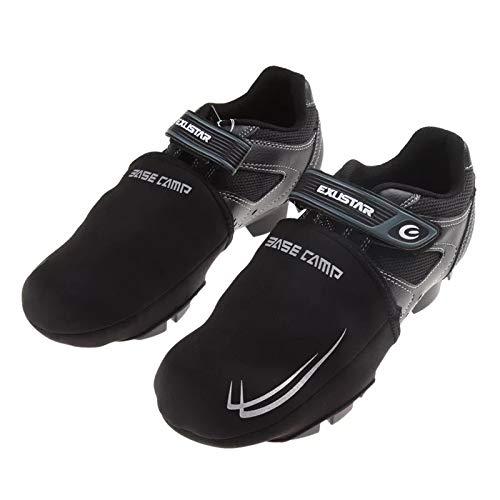 Jurus Fahrradschuhe, Überschuhe, Winddicht, Warmer Schutz für Rennräder, Mountainbikes, Short Shoes Cover, One Size(6M-9M US Women/4M-8M US Men) - Wind Shoe Cover