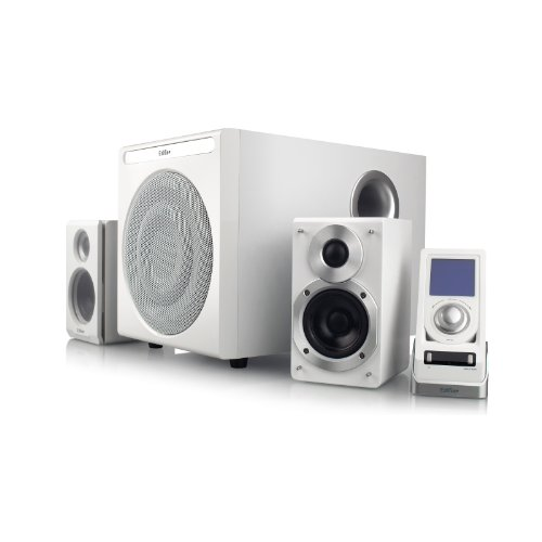 edifier pc lautsprecher EDIFIER S530D 2.1 Lautsprechersystem (145 Watt) mit Infrarot-Fernbedienung und kabelgebundenem Controller, weiß