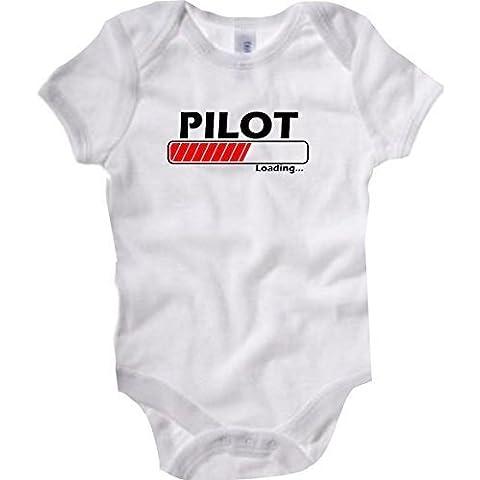 Shirtstown Body Bebé Pilot Cargando