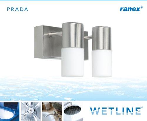 Ranex applique per sala da bagno prada