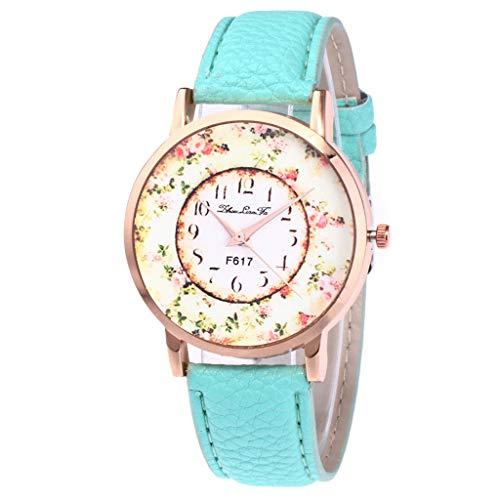 Damen Mode Casual Lederband Analoge Quarz Uhr YunYoud schöne günstige taschenuhr digitaluhr billige modische Elegante luxusuhren hochwertige titanuhren pendeluhr