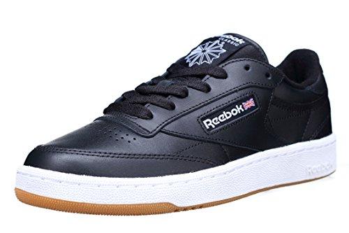 Reebok Club C 85, Chaussures de Running Femme Noir