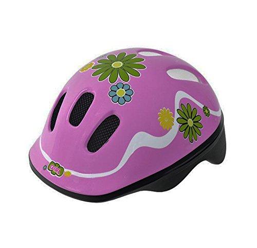 Casco Infantil Niña de Ciclismo Patines Skateboard Bicicleta Ventilado ROSA 3564
