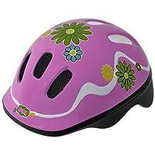 Casco Infantil Niña de Ciclismo Patines Skateboard Bicicleta Ventilado ROSA Talla XS 3564