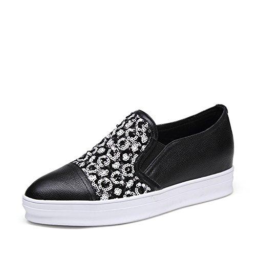Chaussures de loisirs coréen/Chaussures pied plat/Flâneur/ élégant et minimaliste A
