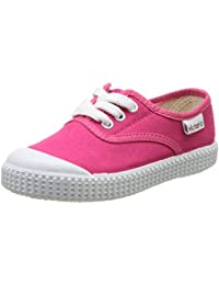 Victoria Inglesa Lona Con Elastico - Zapatillas de deporte de canvas para niña