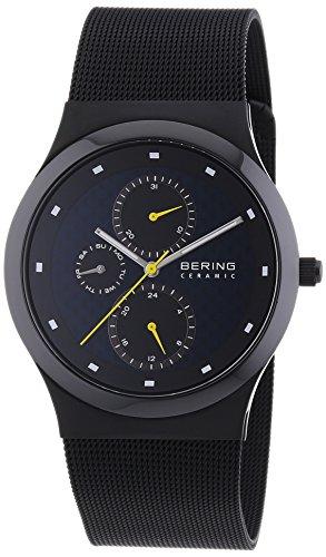 Bering Time - 32139-228 - Montre Homme - Quartz Analogique - Bracelet Acier Inoxydable Noir