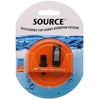 SQC Source-Kit per allacciamento rapido per bicicletta, colore: nero