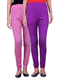 Belmarsh Warm Leggings - Pack of 2 (Bpink_Purple)