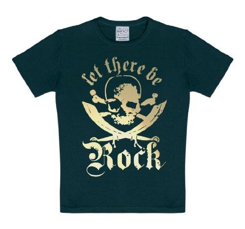 Logoshirt - T-shirt - Uni - Manches courtes - Bébé (garçon) 0 à 24 mois Noir Noir - Noir - Noir - 12-18 mois