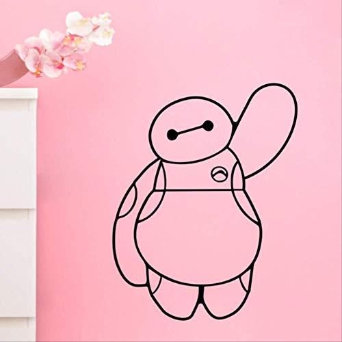 qwerdf Wand-Sticker-Film Hero 6 Wandaufkleber Für Kinderzimmer Baby-Kinder Spielzeug Wohnhaus Dekoration Für Kinder-Weihnachts-kostüm (War Hero Kostüm)