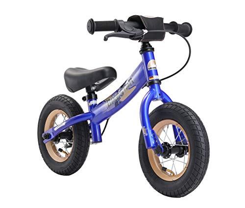 Bikestar Vélo Draisienne Enfants pour Garcons et Filles DE 2-3 Ans ★ Vélo sans pédales évolutive 10 Pouces Sportif ★ Bleu