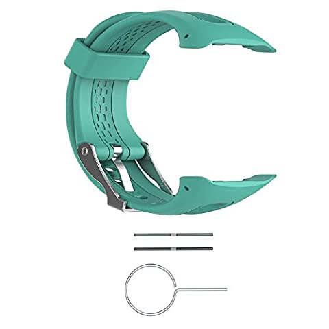 Turnwin Straps for Large Forerunner 15/Forerunner 10 Bands Replacement Wristbands for Garmin Forerunner 10/15 GPS Smart Watch (0.98