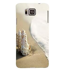 Fuson 3D Designer Back Case Cover For Samsung Galaxy ALPHA