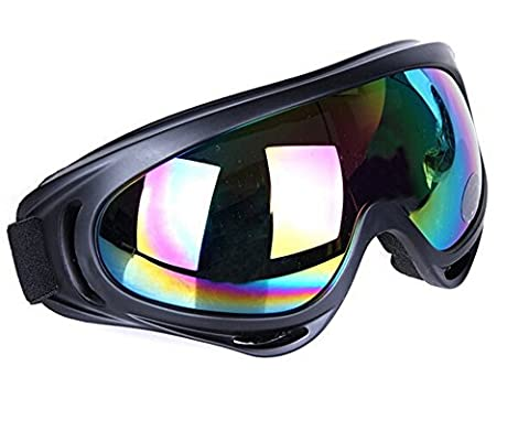 EJY 5 Colors X400 UV Protection Outdoor Sports Ski Goggles Motorcycle Goggles Windproof Glasses (colourful)