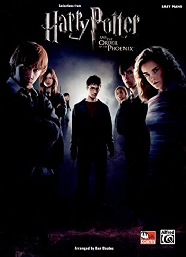 Selections from Harry Potter and The Order of the Phoenix: Easy Piano Solos