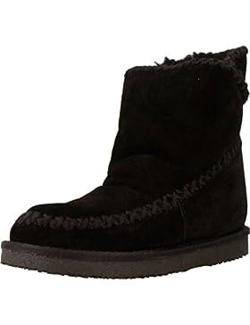 GIOSEPPO scarpe donna stivaletti con zeppa interna 42114 NERO