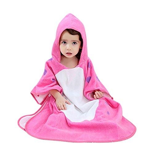 Albornoz vestido niños toalla baño Niñas Chicos