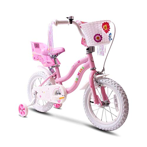 COEWSKE Bicicleta niños Marco Acero niños Little