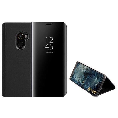 Capa Flip Funda® Mirror Plating para Xiaomi Mi MIX 2 (Preto)