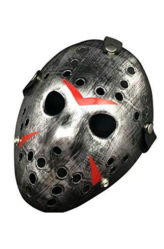 B-Creative Halloween Masks Scary Jason Voorhees Horror Costume -