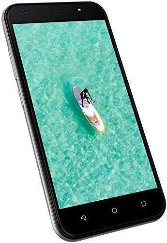 "3G Dual SIM Handy Ohne Vertrag Günstig Neu 5\"", Android Smartphone Ohne Vertrag Günstig 1GB+8GB ROM, Camera 8MP+5MP, 2400mAh Wieppo S5 Silber"