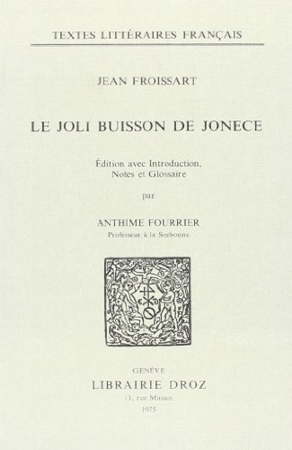 Le Joli Buisson de Jonece