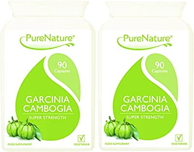 180 Garcinia Cambogia Triple Strength Slimming Pills 1500mg Daily with Essential Potassium & Calcium for Rapid Absorption & No Stimulants|100% Quality Assured Money Back Gaurantee| Safe UK Made 5 STAR Rated | Suitable for Vegetarians & Vegans+ FREE Fast S