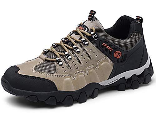 GJRRX para Hombre Botas de Senderismo Impermeables de Ocio al Aire Libre  Zapatos de Deporte Zapatillas 5c846a1ea9eac