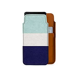 Dailyobjects Real Leather Mobile Wallet for Oneplus 5 Color- Multicolor