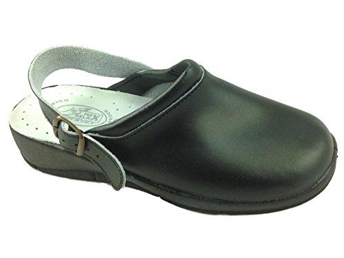 Foster Footwear - Sandali con Zeppa donna Black/Strap