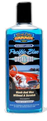 surf-city-garage-bleu-pacifique-et-wash-wax-cire-227-g-lavage-et-sans-rayures-shampoing-auto