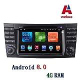 Wekuo Auto-DVD für Mercedes Benz E-Klasse W211 CLK G Klasse W463 CLS W219 Autoradio GPS Stereo Headunit Tape Recorder