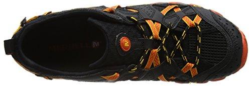 Merrell Waterpro Maipo, Chaussures Pour Sports Aquatiques Homme Noir (Black/hot Coral)