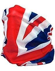 Ruffnek couvre-chef cache-cou multifonctionnel avec drapeau Union Jack taille unique