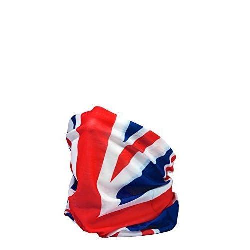 419qlVUxbpL. SS500  - Ruffnek UNION JACK FLAG Multifunctional Headwear Neck warmer - One Size