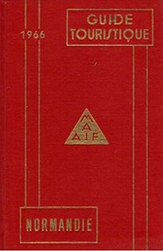Guide touristique - normandie - 1966