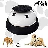 Campanello per Cani CUKCIC Campana da Tavolo per Animale Addestramento Premendo Campana per Chiamata