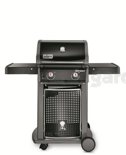 Weber Spirit Original E-210 Barbecue Carrello Gas 7750W Nero