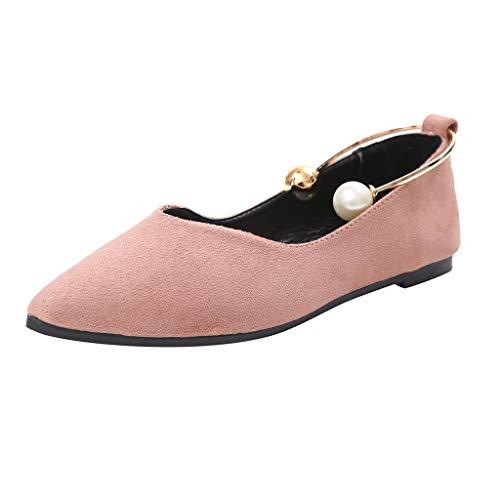 Btruely Zapatos de Mujer❤️Botas Cortas Moda Zapatos Individuales Zapatillas Unisex Plano Zapatos Primavera de Cuña